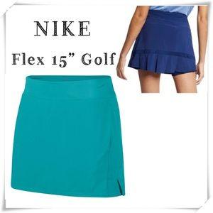"""Nike Nike Flex 15"""" Golf Skort Skirt AV3651-309 New"""